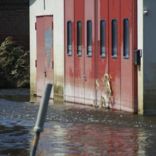 Hochwasser Fischbeck